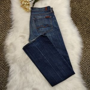 7 for all Mankind Bootcut Womens Jeans sz 27